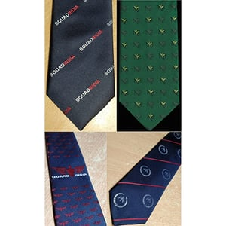 Customized Logo Uniform neck ties
