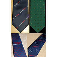 Customized Logo Uniform neck ties