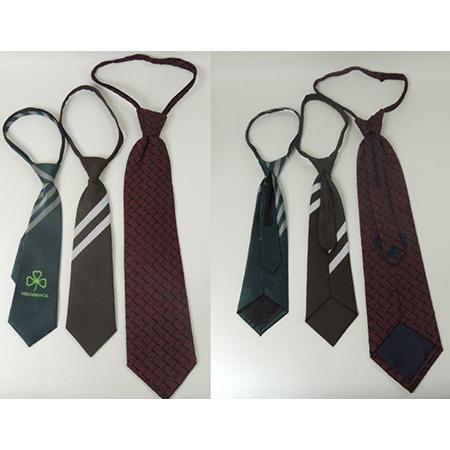zipper ties Clip neckties