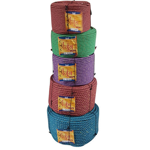 Plastic Brown Rope