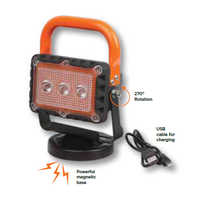 Led 9w Rechargeable Site Lamp With Magnetic Base