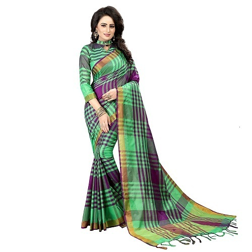 New Fancy Nylon Silk Saree
