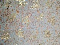 Rayon+foil print