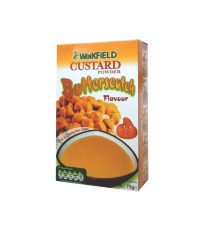 Butterscotch Flavour Custard Powder Age Group: Old-Aged