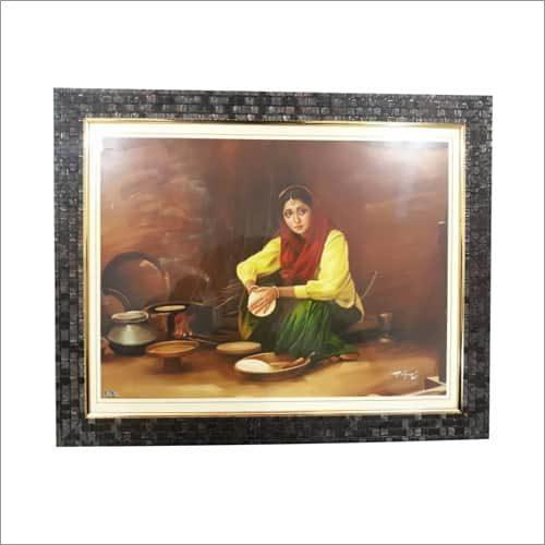 Punjab Culture Scenery Frames