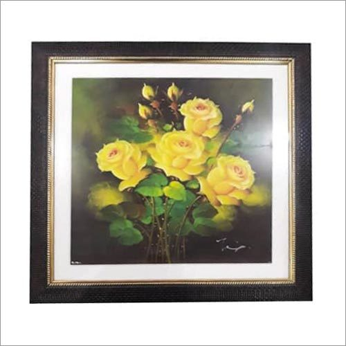 Flower Painting Scenery Frames