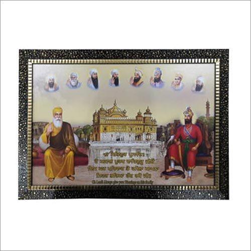 Punjabi Religious Scenery Frames