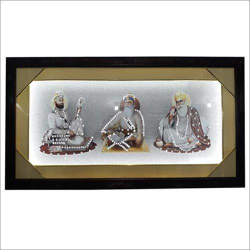 Sikh Guru Scenery Frame