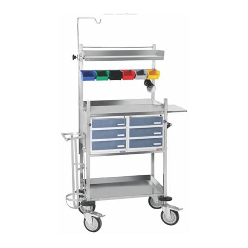 Hospital ICU Trolley