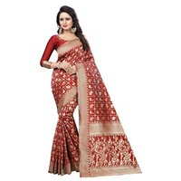 Jacquard Printed Saree