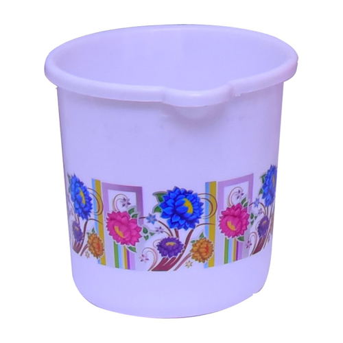Floral  Print Bath Mug