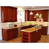 Wooden Kitchen Module