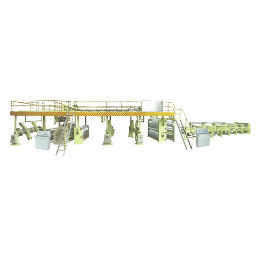 Three Layer Paperborad Production line