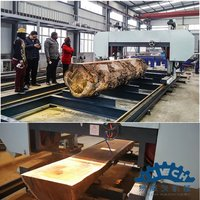 Heavy Duty Horizontal Band Sawmill