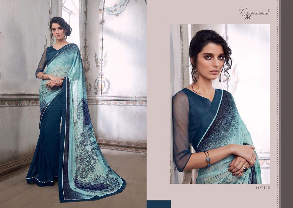 New stylish designer sarees