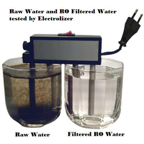 Raw Water Testing Electrolizer