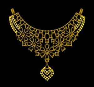 Mounting Necklace
