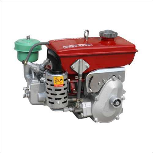 Display First Portable Diesel Engine