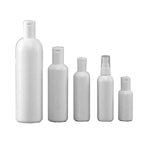White HDPE Bottles