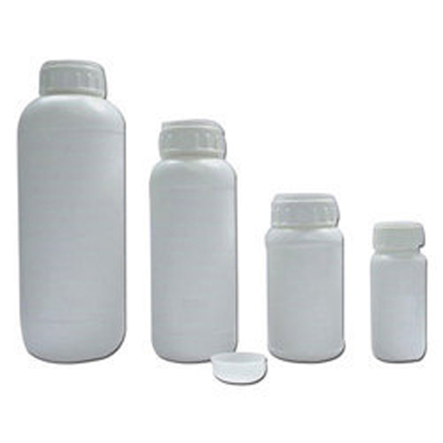 HDPE pesticide bottle