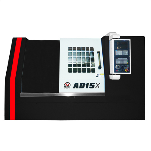 Black Color Slant Bed CNC Lathe