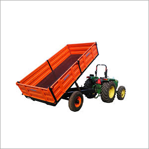 2 Wheeler Tipper Trailer