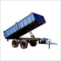 4 Wheeler Tipper Trailer