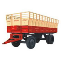 Special 4 Wheeler Trailer For Sugarcane Carrying