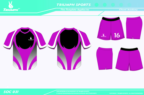 Full printed sportswear