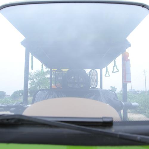 Electric Rickshaw Front Glass