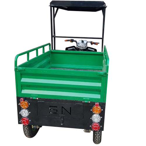 E-Rickshaw Back Side View