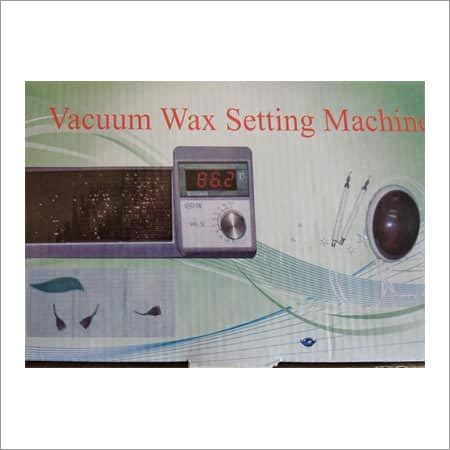 Vacuum Wax Setting Machine