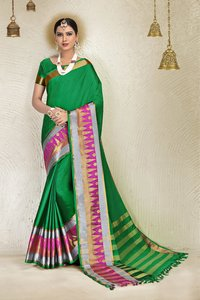 Blended Cotton Saree