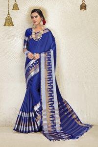 Blended Cotton Saree