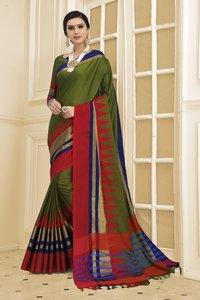 Designer Cotton Saree