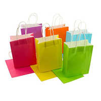 Multicolour Shopping Paper Bags