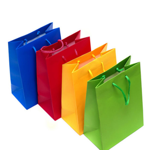 Multi Coloured Paper Bags