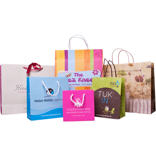 Custom Printed Paper Bags at Price Range 5.00 - 30.00 INR/Unit in ...