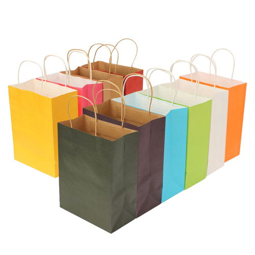 Paper Gift Packing Bags