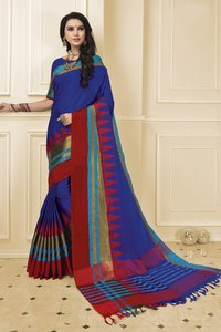 Indian Cotton Silk Saree