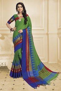 Indian Cotton Silk Saree