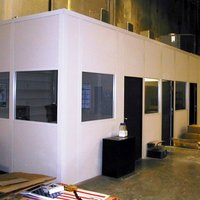 Modular Office On Mezzanine Floor