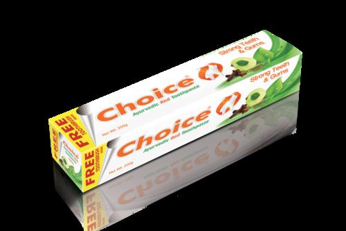 Choice Ayurvedic Red Toothpaste