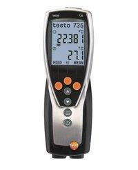 testo 735-1 - temperature measuring instrument (3-channel)