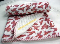 Sanganeri Block Printed Baby Quilts 100% Cotton