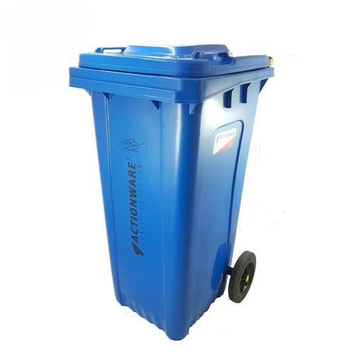 Square Wheel Dustbin 120 ltr