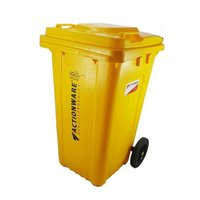 Square wheel Dustbin 100 Ltr
