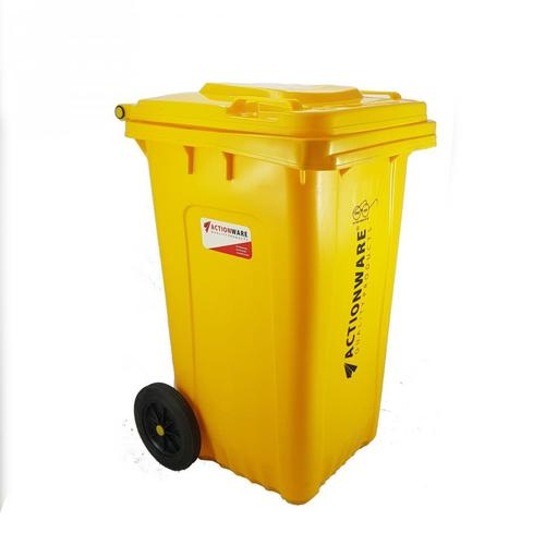Square Wheel Dustbin 80 Ltr