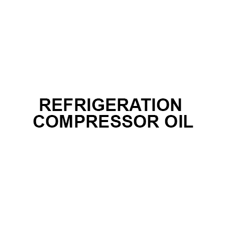 REFRIGERATION COMPRESSOR OIL