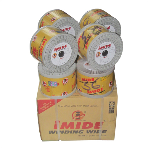 Poly imide enamelled copper wire